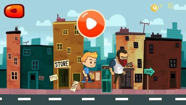 Street Runner Boy - city game apk screenshot