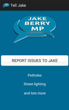 Tell Jake poster
