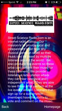 Street Science Radio.com apk screenshot