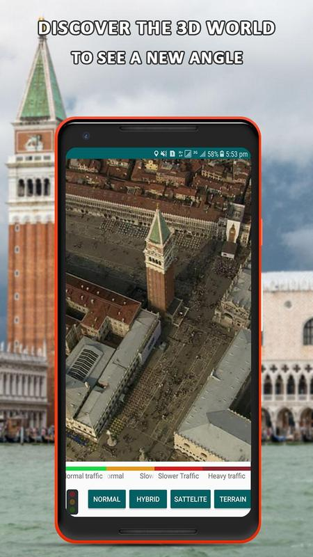 Global Live Earth Map Gps Tracking Satellite View For Android Apk