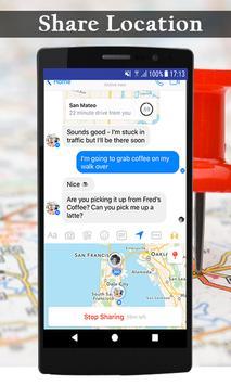 Live earth map streetview world GPS & compass 2018 screenshot 10