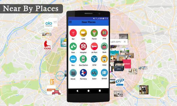 Live earth map streetview world GPS & compass 2018 screenshot 13