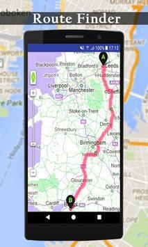 Live earth map streetview world GPS & compass 2018 screenshot 3