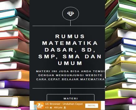 Mathematics SMP Class 7 Semester 2 apk screenshot