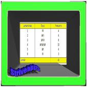 Data Presentation of Distribution Table icon