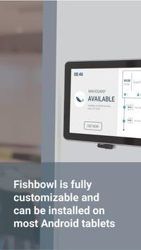 Fishbowl Meeting Room Display poster
