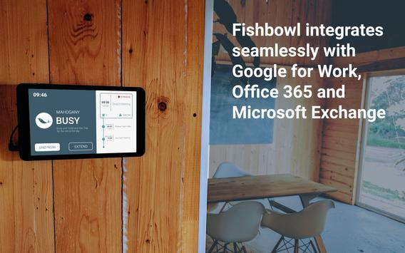Fishbowl Meeting Room Display apk screenshot