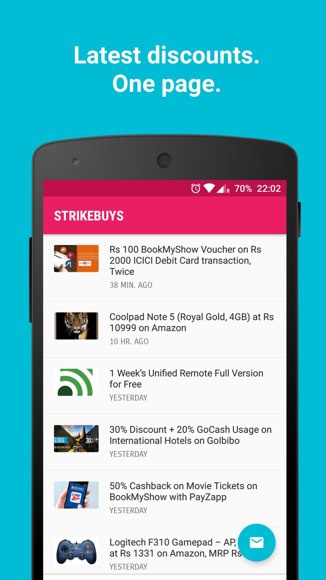 StrikeBuys for Android - APK Download