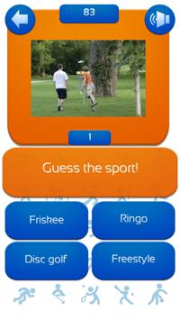 Sports Athletic Knowledge Quiz poster