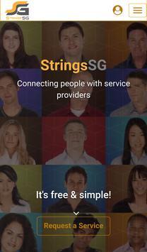 StringsSG poster