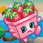 New Jumper Games Strawberry Shopkins Adventure icon