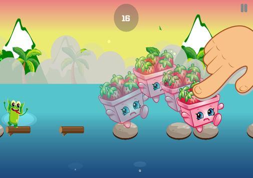 New Jumper Games Strawberry Shopkins Adventure apk screenshot