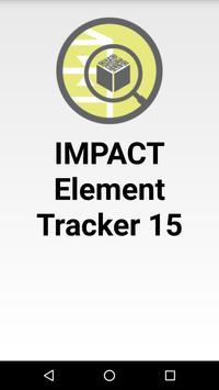 IMPACT Element Tracker 15 poster