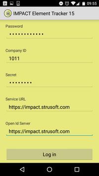 IMPACT Element Tracker 15 screenshot 1