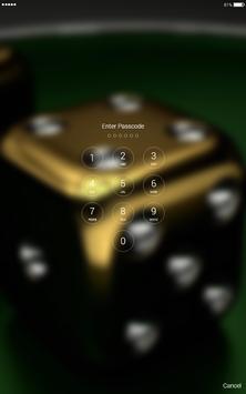 Dice games 5D lock screen apk screenshot