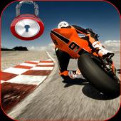 Super sportbike 4K lock screen icon
