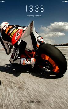 Super sportbike 4K lock screen apk screenshot