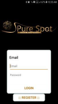 Pure Spot Events Management apk screenshot