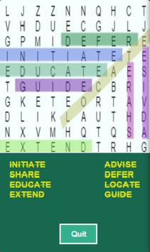 Word Search & Learn - Free poster