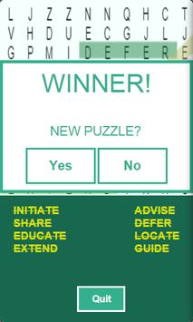 Word Search & Learn - Free screenshot 1