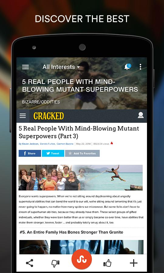StumbleUpon for Android - APK Download