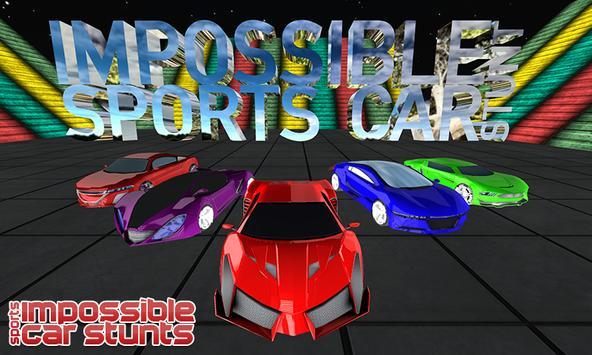 Lexus GT Stunt Car on Extreme City 3D Mega Ramp poster