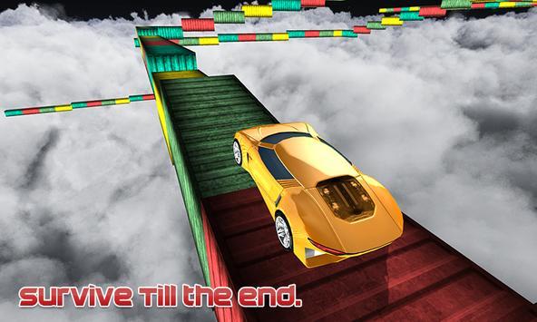 Lexus GT Stunt Car on Extreme City 3D Mega Ramp screenshot 2
