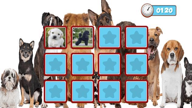 Dogs Memory Game 2018 screenshot 3