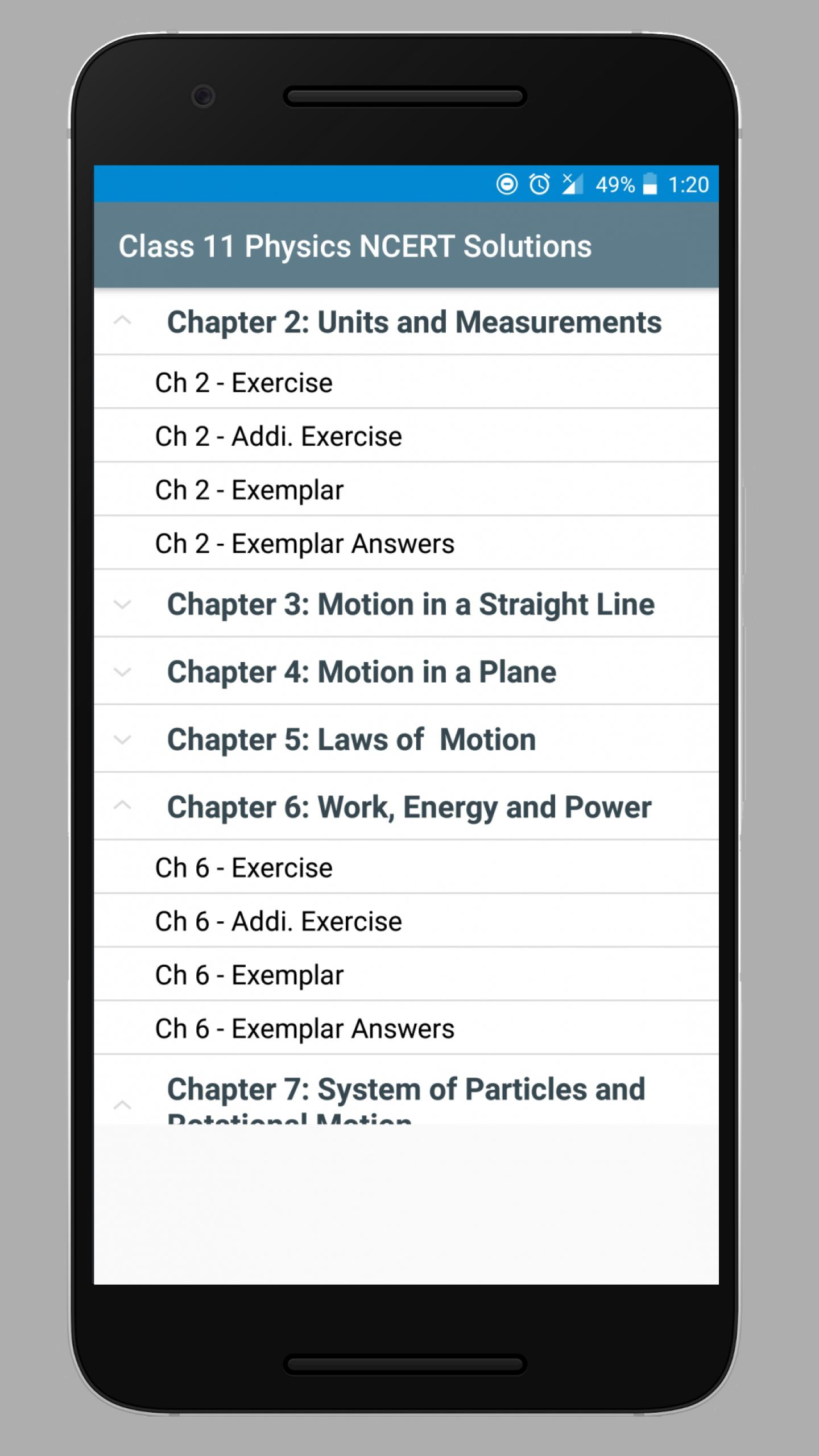 Class 11 Physics NCERT Solutions for Android - APK Download