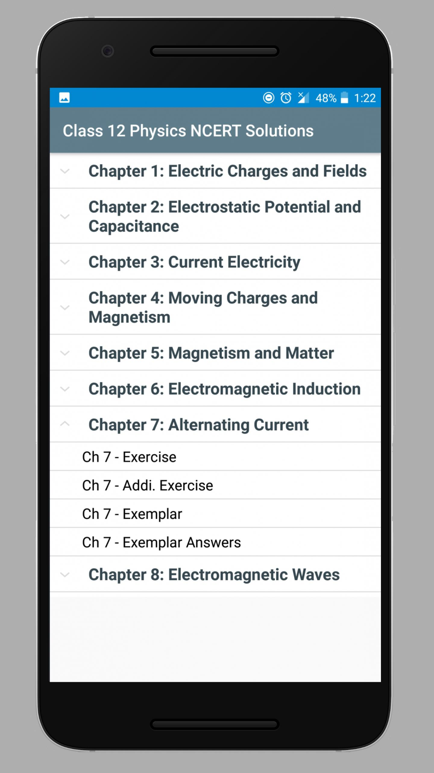 Class 12 Physics NCERT Solutions for Android - APK Download