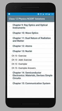 Class 12 Physics NCERT Solutions screenshot 1