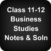 Class 11-12 Business Studies Notes Solutions icon