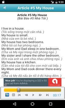 Learn English By Listening apk screenshot