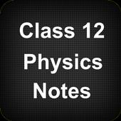 Class 12 Physics Notes icon