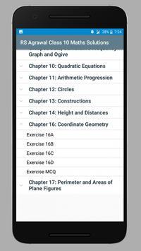 RS Agrawal Class 10 Maths Solutions screenshot 1