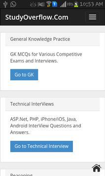 Studyoverflow.com apk screenshot