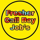Freshers Call Boy Jobs icon