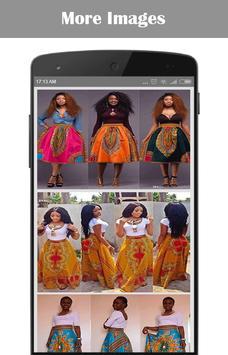 African Skirt poster