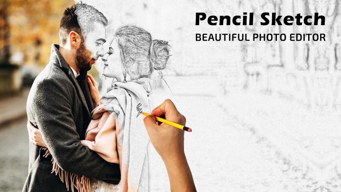 Pencil photo sketch sketching drawing photo editor screenshot 4