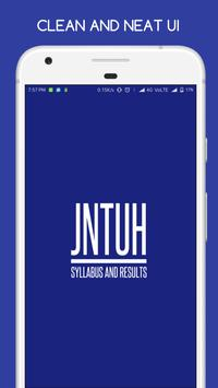 Updates,Syllabus & Results for JNTUH poster