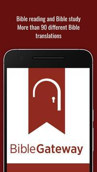 Bible Gateway - Study Free poster