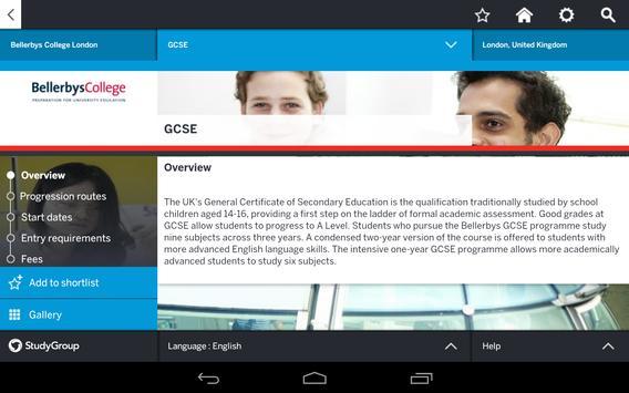 Study Group Course Finder apk screenshot