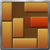Unblock Red wood icon
