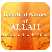 Names of ALLAH in Bible icon