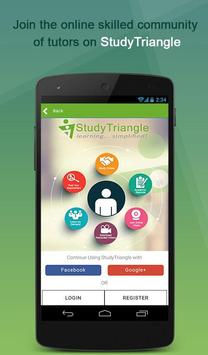 StudyTriangle- Online Tuitions poster
