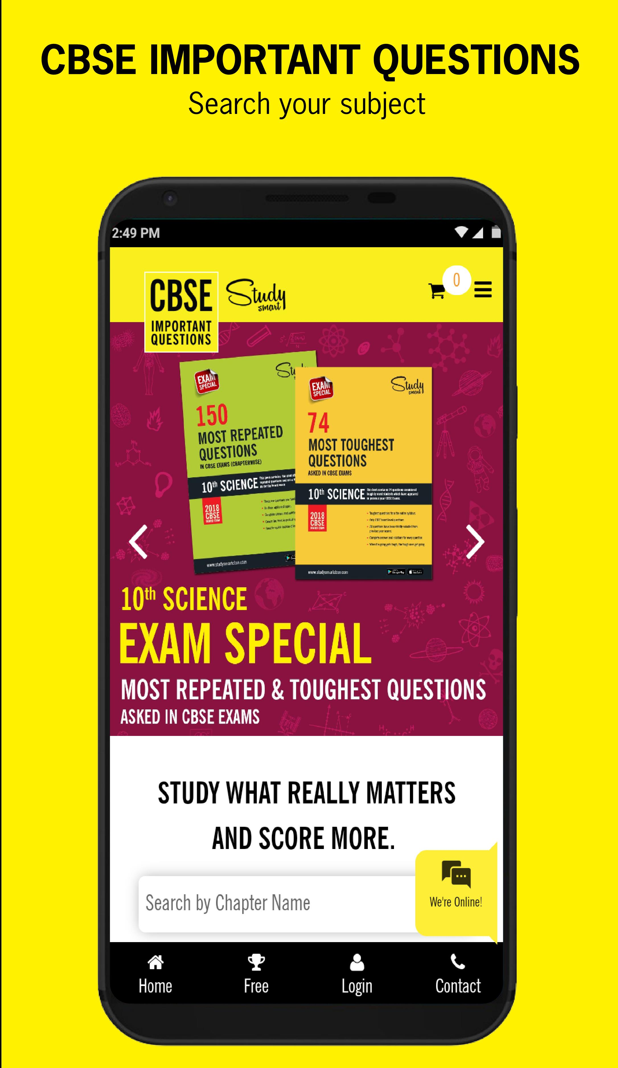 CBSE IMPORTANT QUESTIONS for Android - APK Download