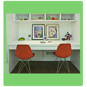 study table for kids icon