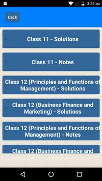 Class 11-12 Business Studies Notes Solutions for Android