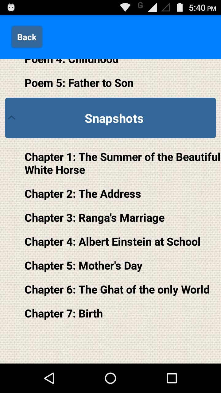 Class 11 English NCERT Solutions for Android - APK Download
