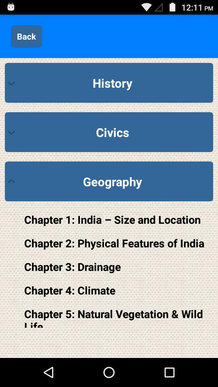 Class 9 Social Science NCERT Solutions for Android - APK